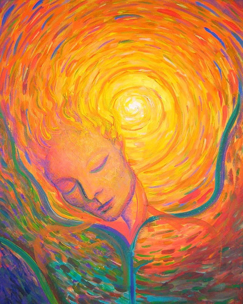 El Angelo, Acrylic on canvas