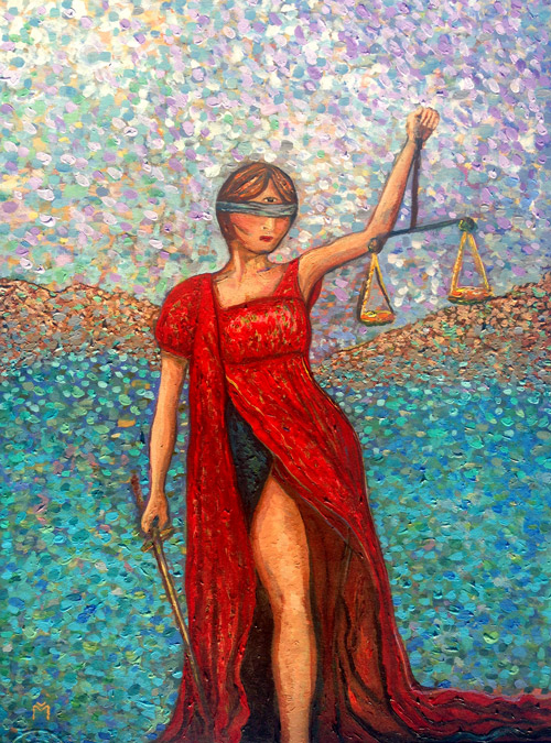 art, violeta moreno, justice